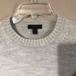 J. Crew Sweaters - J Crew Triple Tipped Wool Sweater Gray Blue Green